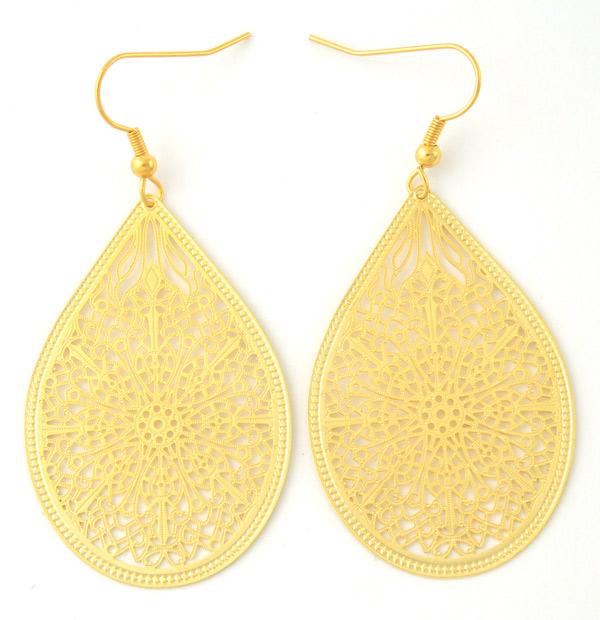Boucles d oreilles mlm mosa que dor e mlm mlm53d vente de bijoux de cr ateurs taratata - Mosaique doree ...