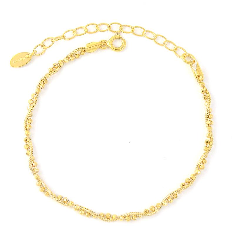 Bracelet argent 925 1000 plaqu or canyon canyon bijoux b3943or vente de bi - Bijoux canyon vente en ligne ...