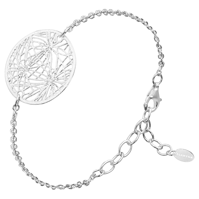 Bijoux Argent Filigrane Malte : Bracelet argent canyon filigrane bijoux