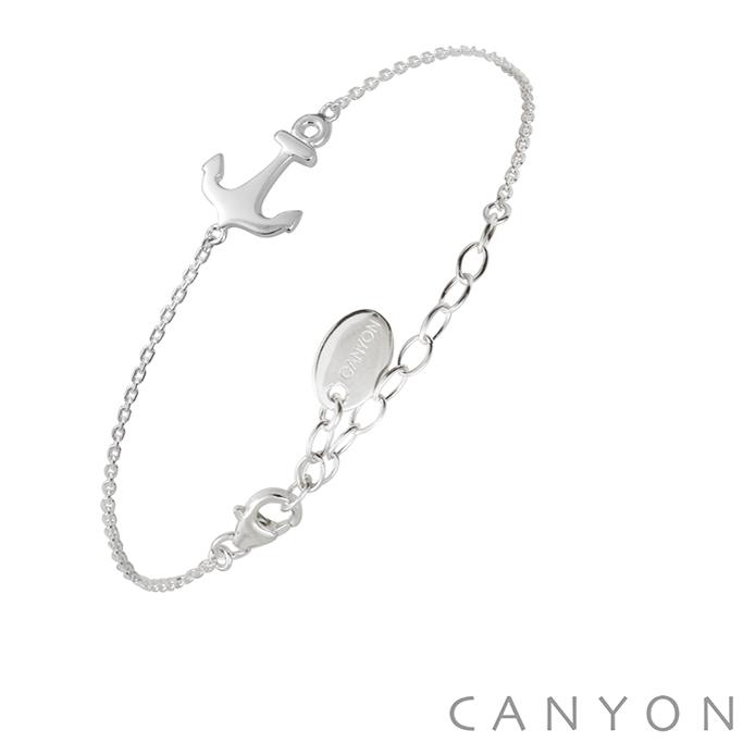 bracelet argent 925 1000 canyon ancre de marine canyon. Black Bedroom Furniture Sets. Home Design Ideas