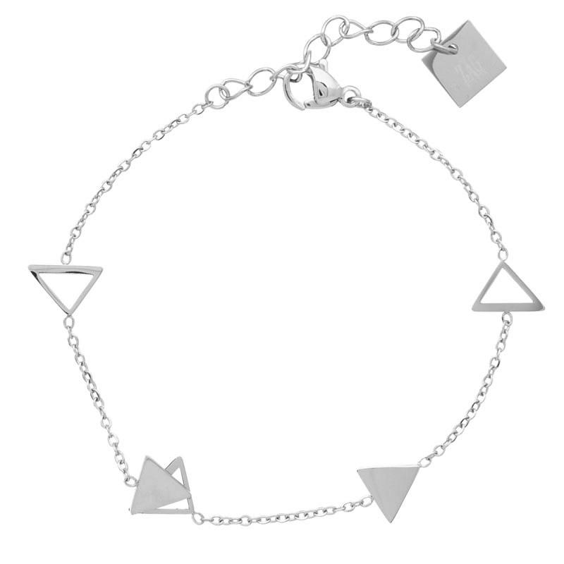 pas mal 832a5 252cc Bracelet Zag Bijoux multi triangles