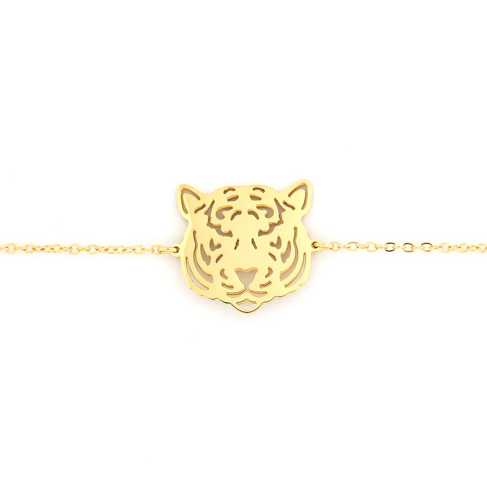 e1c753a231eac3 Bracelet Zag Bijoux doré Tigre Zag Bijoux SBS1388DO   Vente de ...